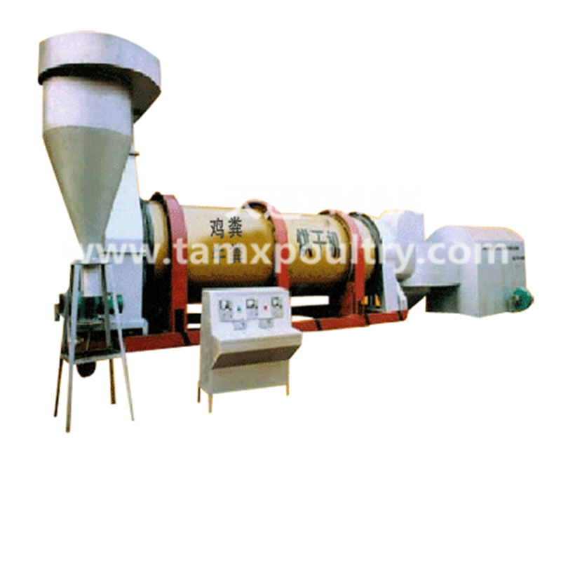 Poultry Chicken Manure Dryer Machine
