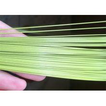 Fio galvanizado revestido PVC do ferro / fio do laço / fio obrigatório
