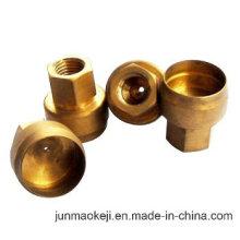 Tuerca y tapa de fundición de cobre