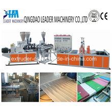 PVC Corrugated (wave) Roofing Plate Extrusion Line