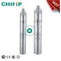 Bomba de agua centrífuga de alta presión para motor eléctrico sumergible monofásico Chimp Qgd Series