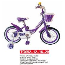 """12 """"neueste Modell der lila Farbe Baby Fahrrad / Kinder Fahrrad"""