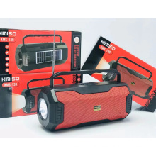 KIMISO KMS-139 Speakers Audio Portable Trolley Speaker Home Theatre System Wireless Microphone Speaker With LED Light
