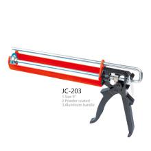 JC-203 Silicone Sealant Gun Powered Coated Aluminum Handle Caulking Gun