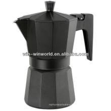 Cafetière espresso portative à tasse simple en aluminium