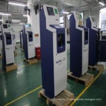 Machine de kiosque d'atmosphère de dépôt d'argent comptant de libre service