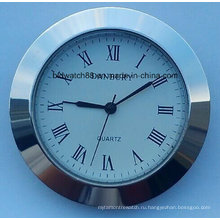 Пользовательские Кварцевые часы Вставка 50мм