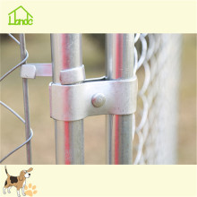 Extra large chain link dog kennel fence