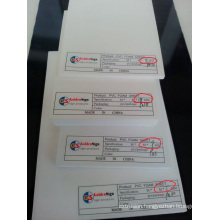 White PVC Foam Sheet