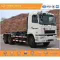 Camion de déchets du CCEA 270hp 6 x 4 18CBM hosit bras