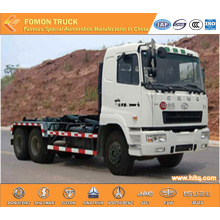 CAMC 6x4 270hp 18CBM hosit arm refuse truck