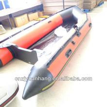 Лодка (ПВХ) используется надувные 380