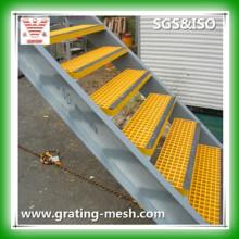 FRP / GRP / Grilles de fibre de verre pour les étapes de l'escalier