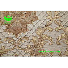 Polyester Jacquard Curtain Fabric (BS1307)