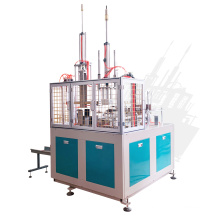 Cost effective compartment lunch box forming machine