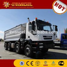 camión volquete plástico de la marca IVECO camión volquete con el radiador del camión volquete de la grúa para la venta