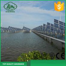 Hệ thống năng lượng mặt trời lắp đặt khung cho cá