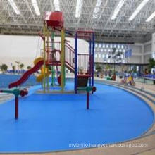 Anti-Slip Swimming Pool Flooring for Indoor/Outdoor