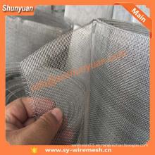 Precio de fábrica durable al-mg ventana de aleación de detección, malla de alambre
