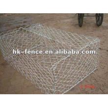 1 PVC hexagonal gabião caixa de reno colchão de malha