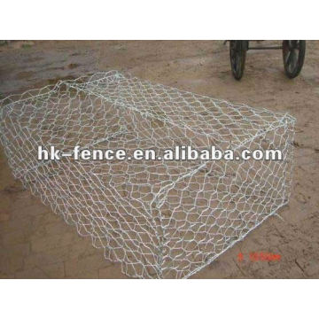 1 PVC hexagon mesh gabion box reno mattress