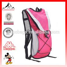 Durable mochila de hidratación para ir de excursión Camping, correa para el hombro con paquete de vejiga de agua 2L