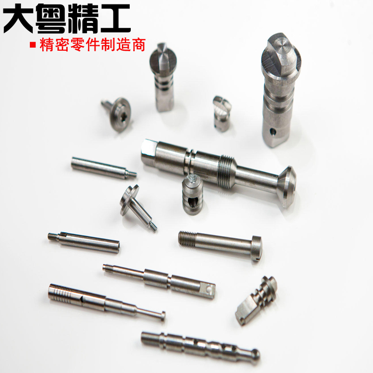 Cnc Turning Steel Components Threaded Shaft And Mandrel