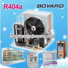 refroidisseur d'eau de refroidissement par air avec compresseur de réfrigération de basse température de boyard unité de condensation