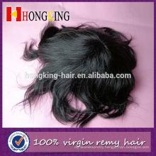 Virgin Hair Super Thin Skin Men's Hair Toupee