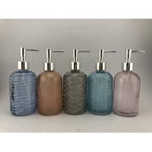 Emulsion Bottle with Sliver Pump Head