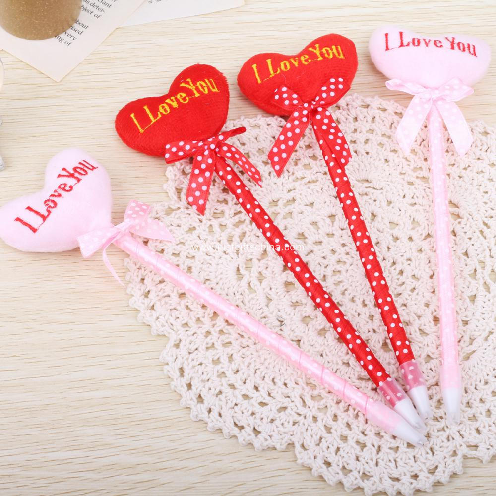 Customized Heart Shaped Pens