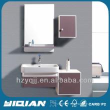 Irán Muebles modernos montados en la pared Iran Brown Muebles de tocador de baño