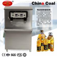 Machine de remplissage électrique d'aspiration d'individu de double tête pour l'huile liquide