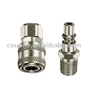 Pneumatic ARO Type Steel Quick Coupler For Air Tool