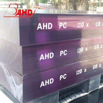 PC Solid Transparent Endurance Sheets Platten