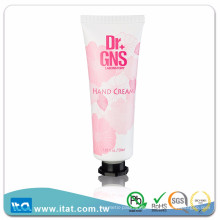 High quality octagonal screw cap cosmetic tube for hand cream body lotion
