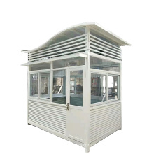 2021 Anti Corrosion Outdoor Metal Security Guard Traffic Booth