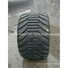 Pneu diagonal 550/45-22.5 pneu agrícola 600/50-22.5 flotação pneus florestais pneumático com cinta de aço
