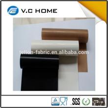 2016 El fabricante superventas ptfe teflon tela termal conductiva tela de fibra de vidrio