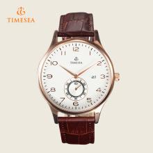 Mens relógios de luxo marca impermeável relógio de pulso 72397