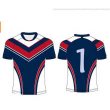 Customized Rugby Wear, Sublimation Rugby Uniforms, Cheap Rugby Team Set