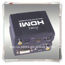 Hochwertiger DVI + SPDIF TO HDMI Konverter