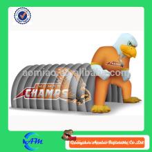 Tenda inflável gigante do túnel da lona da alta qualidade da tenda do túnel da águia inflável venda