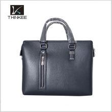 sacos de marca mensageiro para homens de couro genuíno