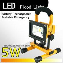 5W 4400mAh 12h LED wiederaufladbare Scheinwerfer