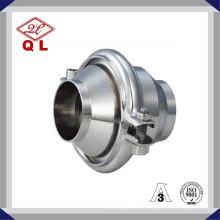 Wenzhou Stainless Steel Ss304 316 2 Inch Welded Food Grade Sanitary Check Valve