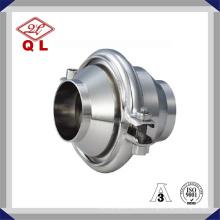 China Sanitária Aço Inoxidável SMS 3A DIN Standard Check Valve