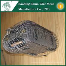 2015 alibaba china производство гибкая веревочная сетка для противоугонной сумки металлическая сетчатая сумка