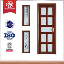 Aluminium Tür für Bad Aluminium Duschtür doppelt verglaste Tür
