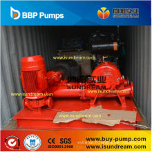 Pompe à eau centrifuge de lutte contre l'incendie